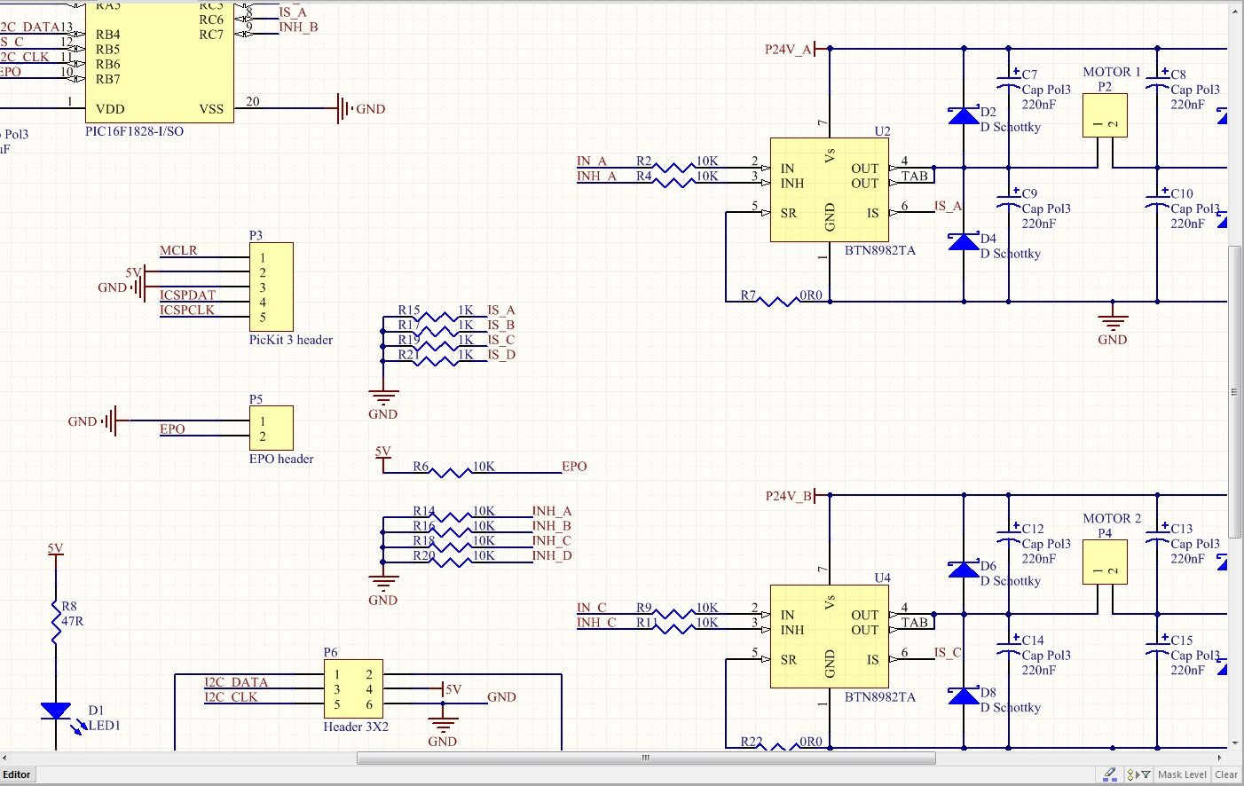 Electronics and PCB Design – Freeburn Robotics
